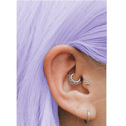 silver snug jewellery titanium cartilage piercings titanium helix clicker