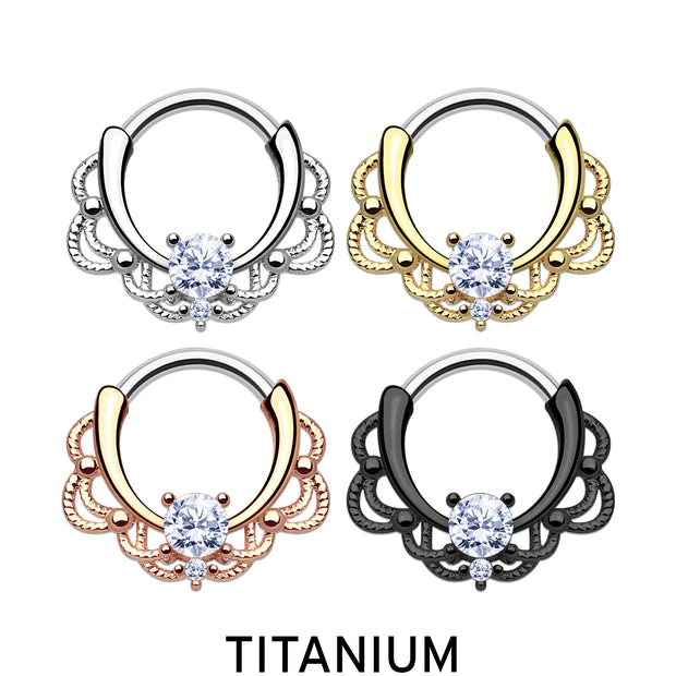 pretty septum clicker gold septum rings rose gold cartilage piercings titanium daith ring titanium cartilage jewellery black helix hoops