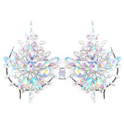 crystal nipple pasties large chest crystals stick on jewels
