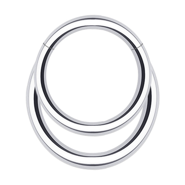 simple daith jewellery simple silver cartilage piercing large helix ring