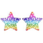 glitter nipple stickers rainbow nipple petals