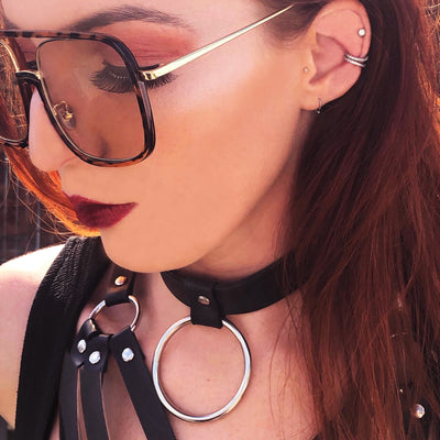 black choker festival choker necklaces