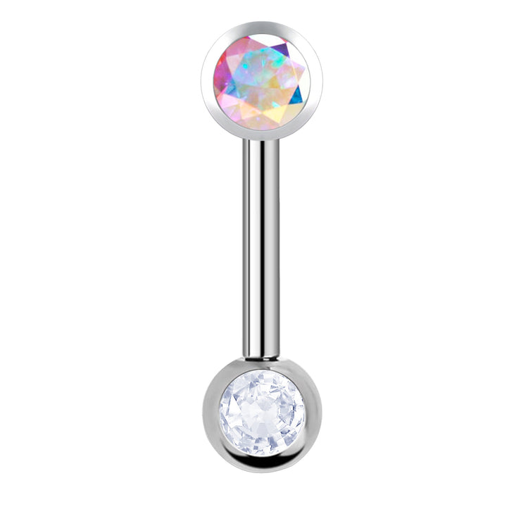 Simply Chic | Titanium Crystal Vertical Hood Piercing