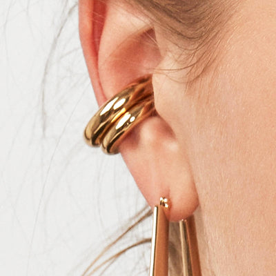 SIMPLY EDGY | Round Ear Cuffs Set