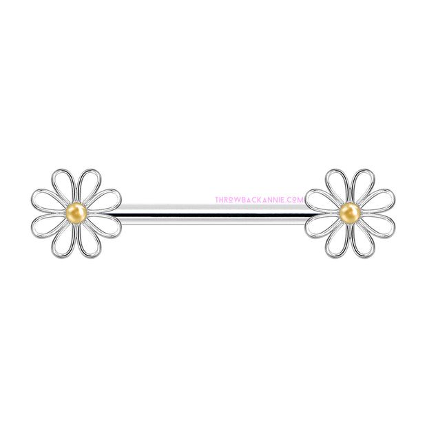 ANNIE | Cute Daisy Nipple Bar