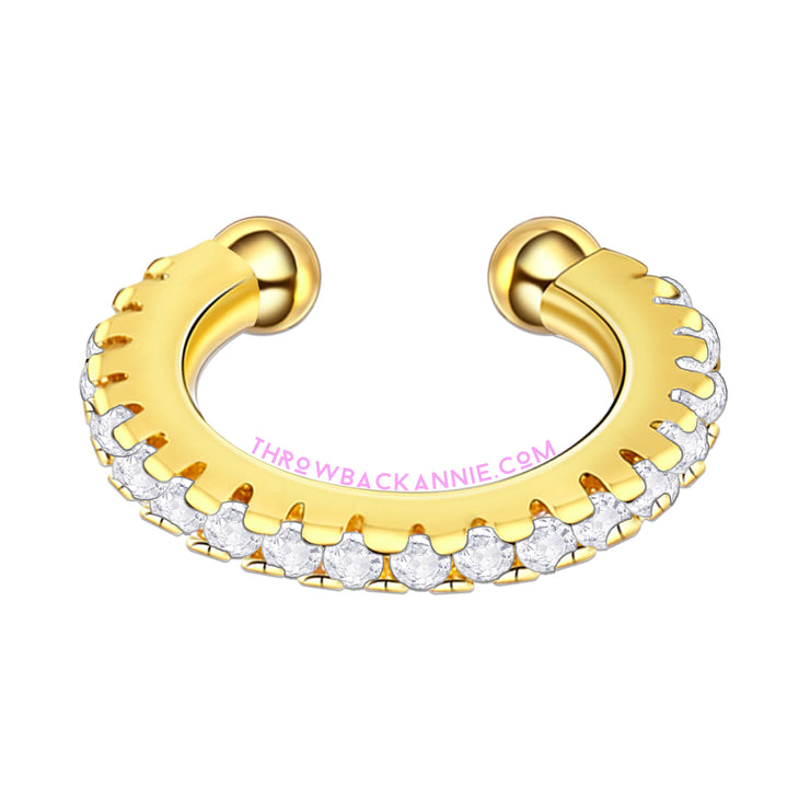 Fake It Sparkle | Crystal Faux Nose Ring