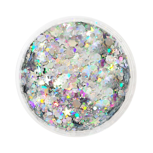 Galactic Goddess | Holographic Cosmetic Glitter