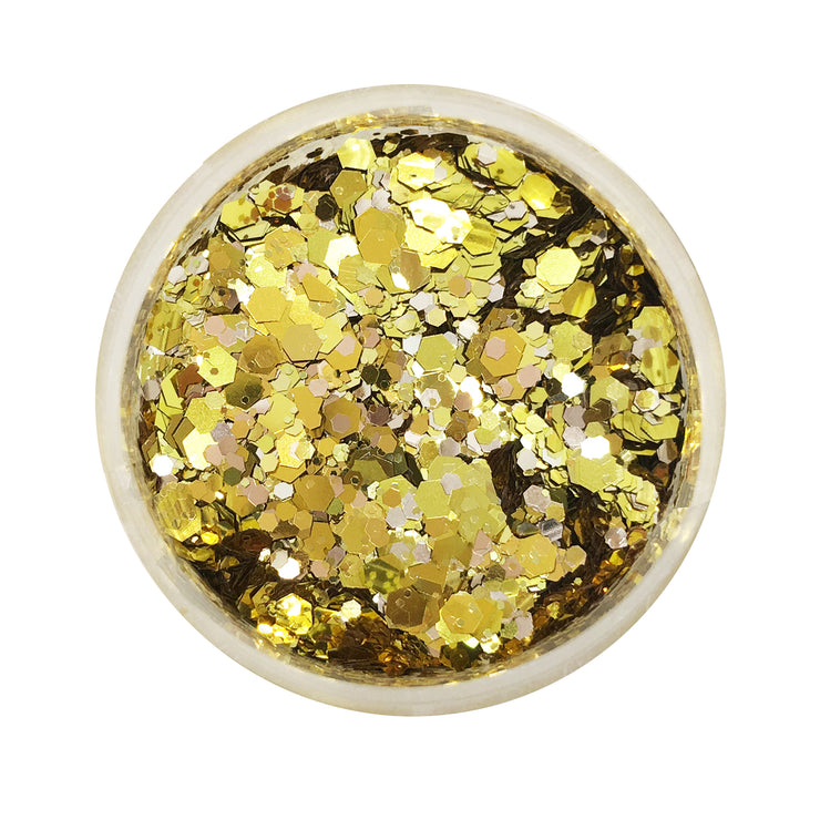 Gold Rush | Gold Glitter Pot