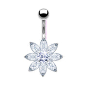 Lacey | Flower Belly Bar