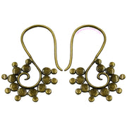 Ophelia | Tribal Spiral Ear Weights