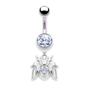 Queen B |  Bee Dangle Belly Bar