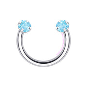 Sparkle Pop | Crystal Horseshoe Ring
