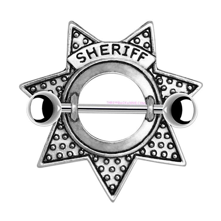 Sheriff | Star Nipple Shield