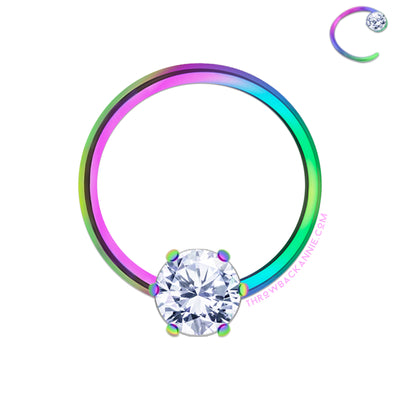 Sparkle pop | Crystal Bendable Ring
