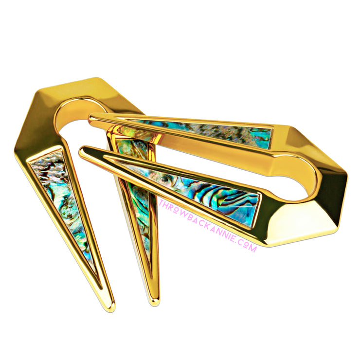 Zana | Shell Inlay Ear Weights