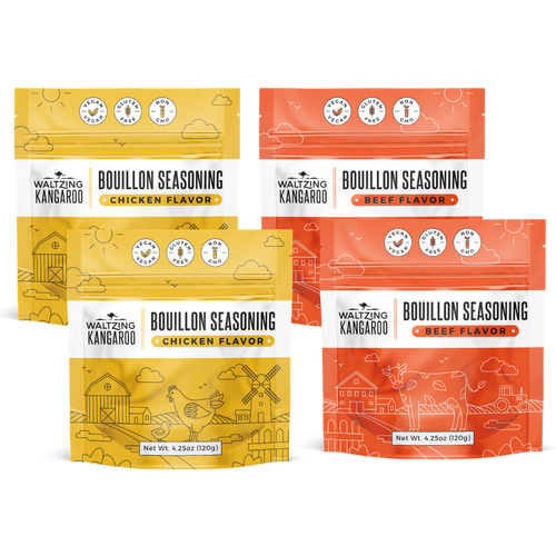 4-Pack Pack Bouillon Seasoning