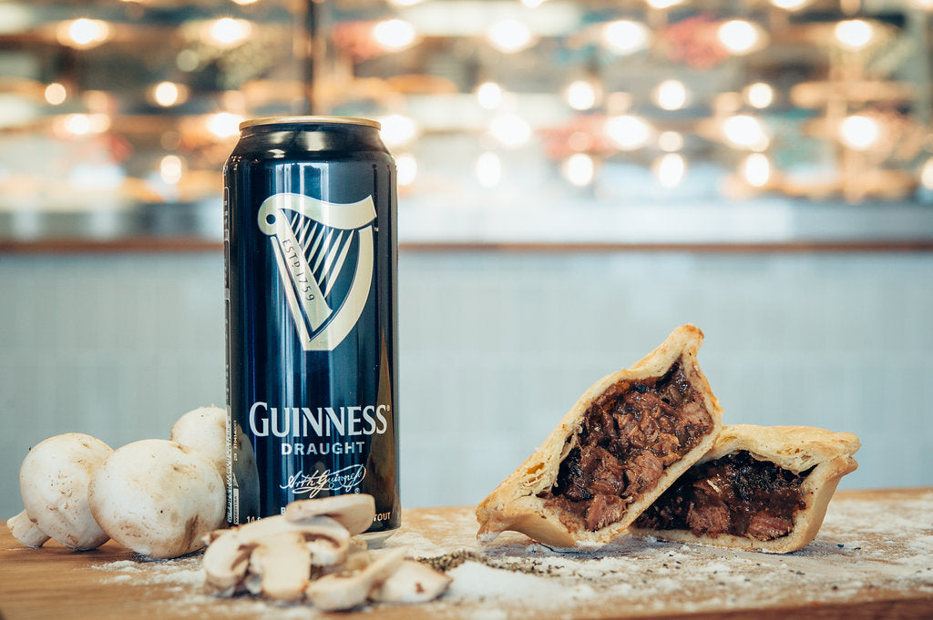 Guinness Steak & Mushroom Pie