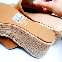 Trenery Espadrille Wedge Slide
