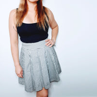 Review Gingham Skirt
