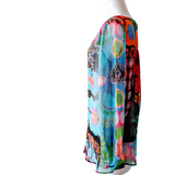 Sheer Desigual Blouse