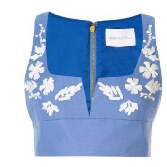 Alice McCALL 'Pastime Paradise' Crop Top