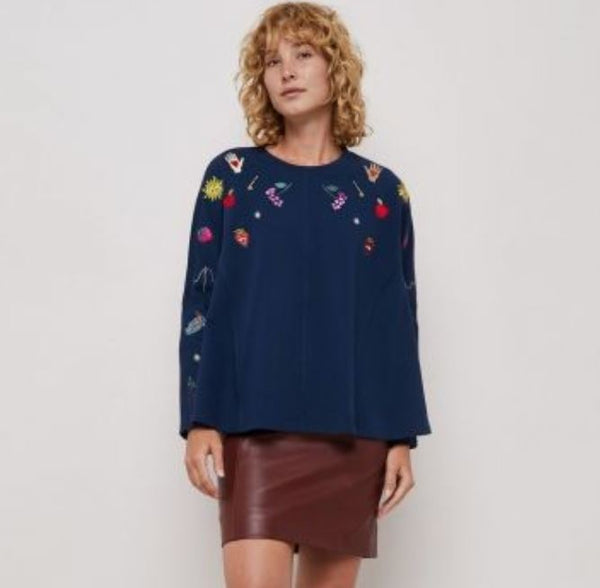 Gorman 'Fable' Embroidered Sweater