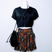 Witchery Zip Crop Top