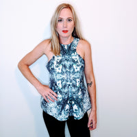 Finders Keepers Splash Print Top
