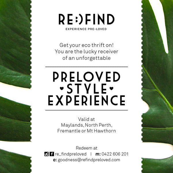 $85 Eco Fashion Experience, Perth Tours (Post Shop Nibbles Included!)