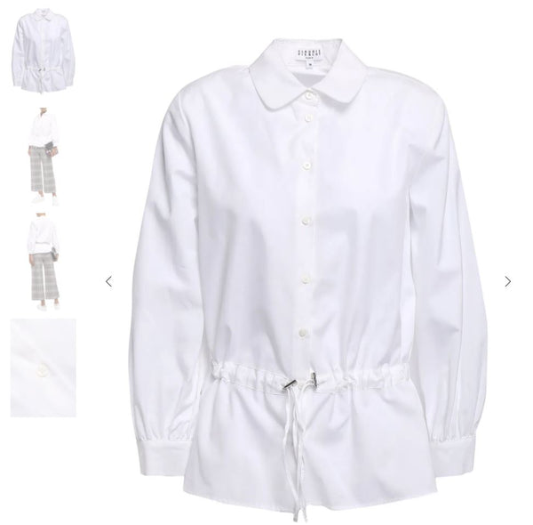 CLAUDIE PIERLOT Gathered Shirt
