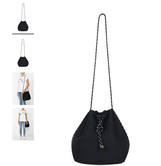 Decjuba Luxe Bucket Neoprene Bag