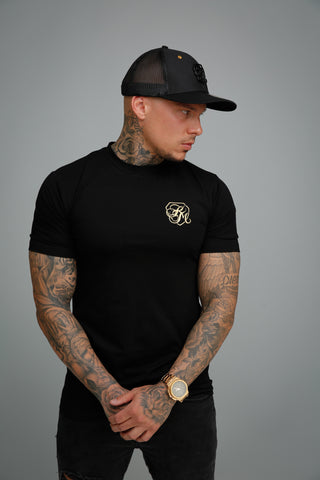 Kingsmen Logo T-shirt |  Gold on Black