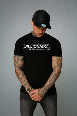 Model Kingsmen billionaire t-shirt met cap