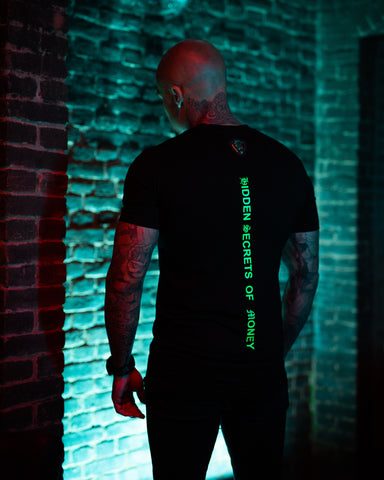 Kingsmen model acherkant shirt neon