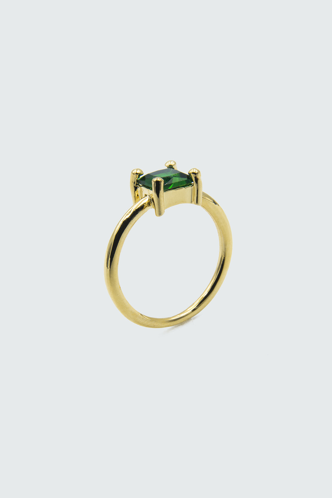 Green square ring