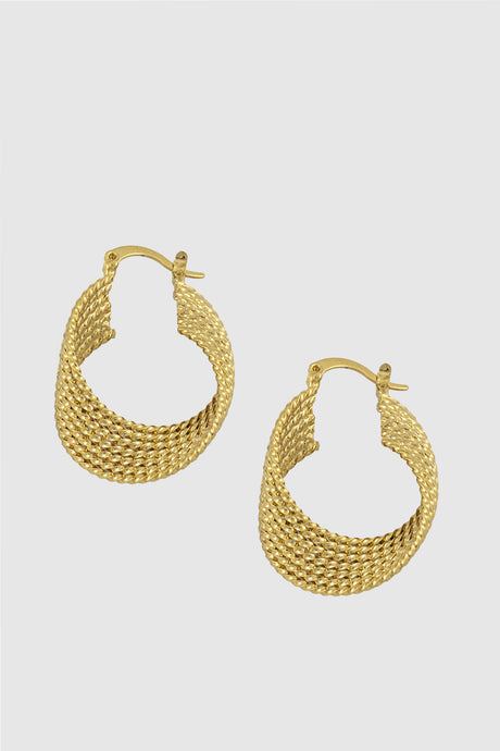 Ostrica earrings, matt