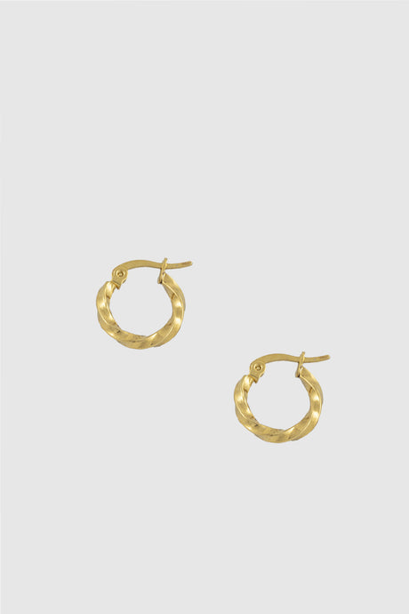 Curved sleeper earrings