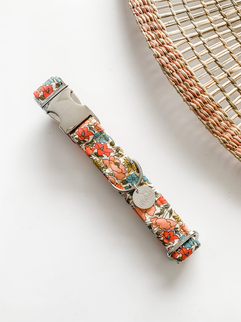 Charlotte Liberty Print Dog Collar & Lead