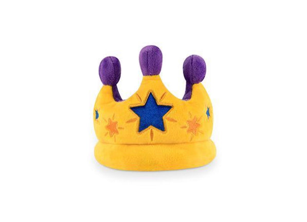 Party Time Canine Crown Plush Dog Toy - the spotted dog company