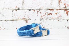 Clyde Harris Tweed Dog Collar