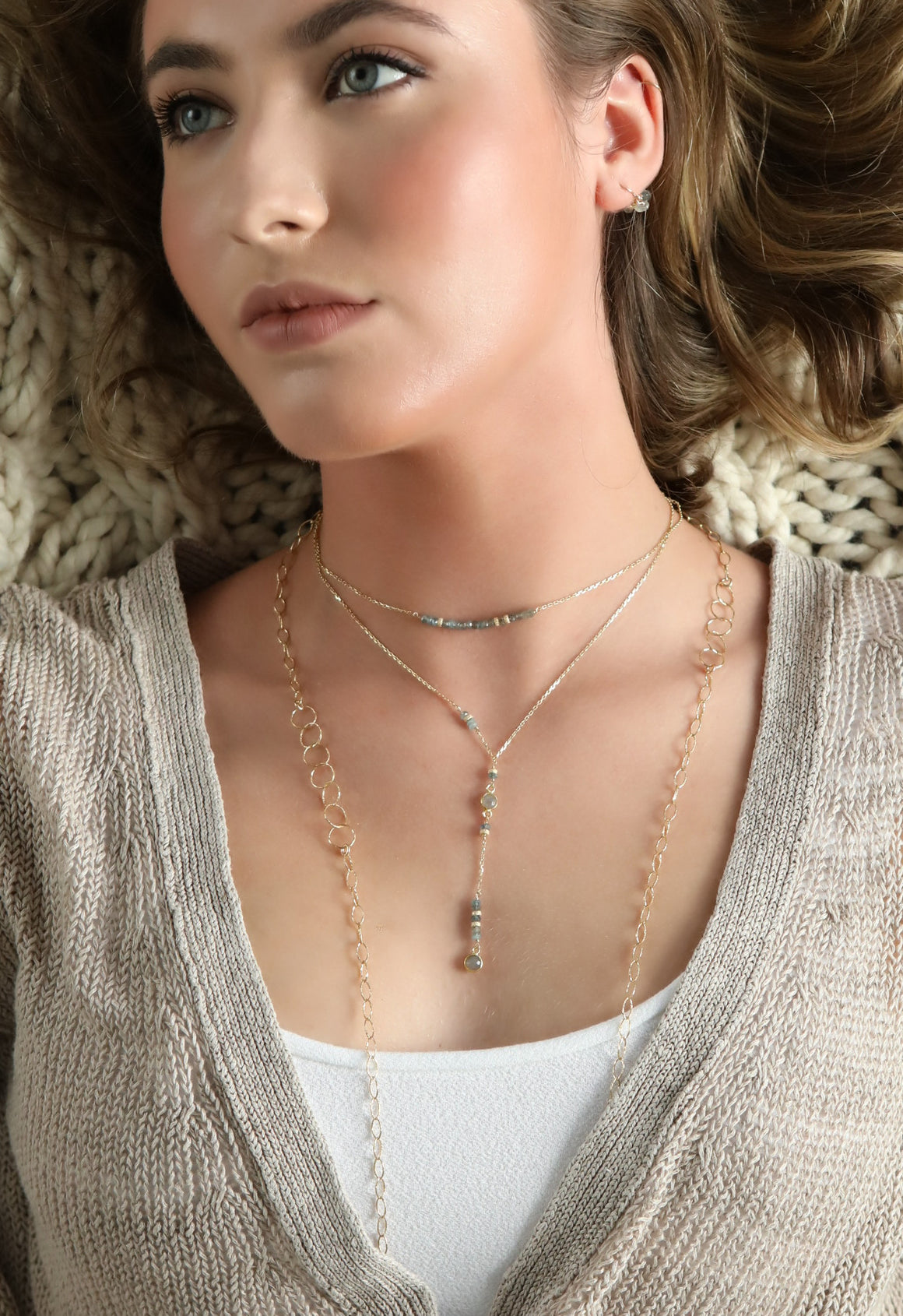 Desert Rose Layering Necklace