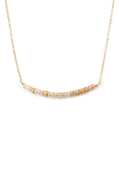Blush Corundum Necklace