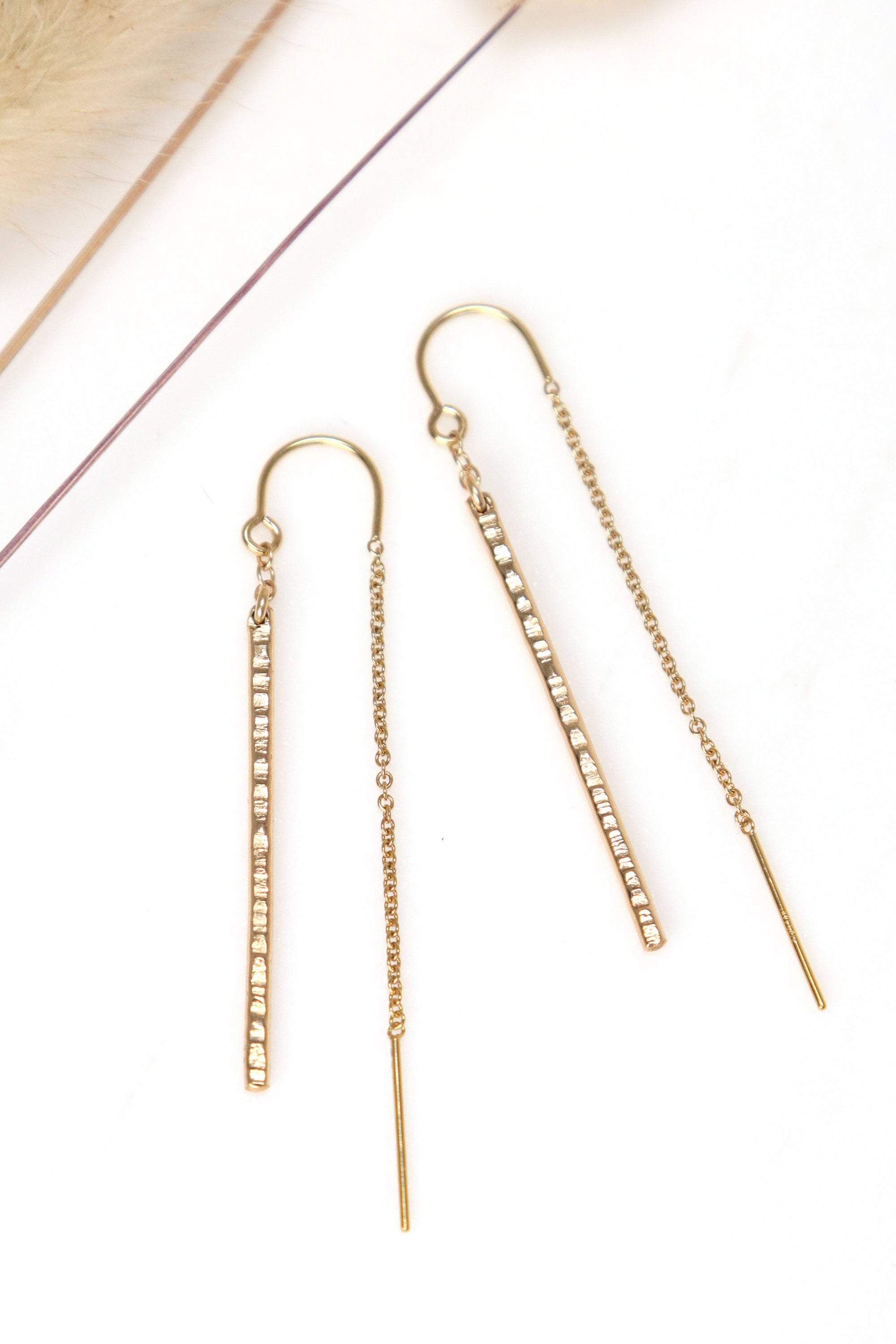Gestalt Threader Earrings