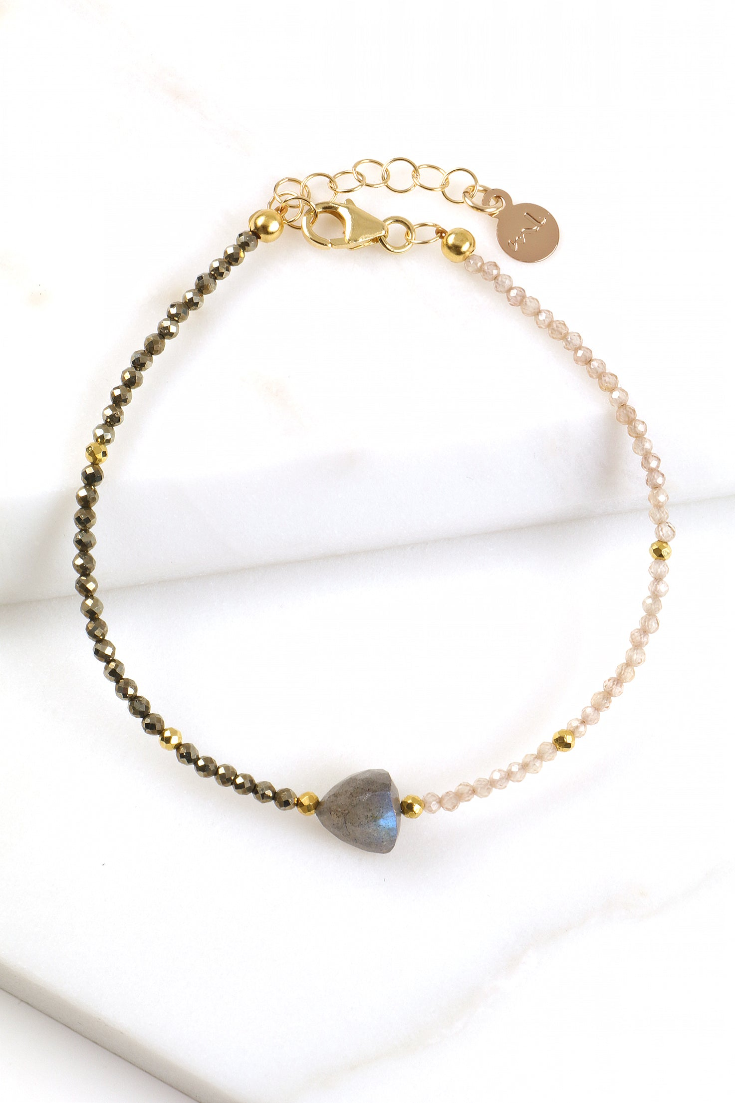 Labradorite Arrow Bracelet