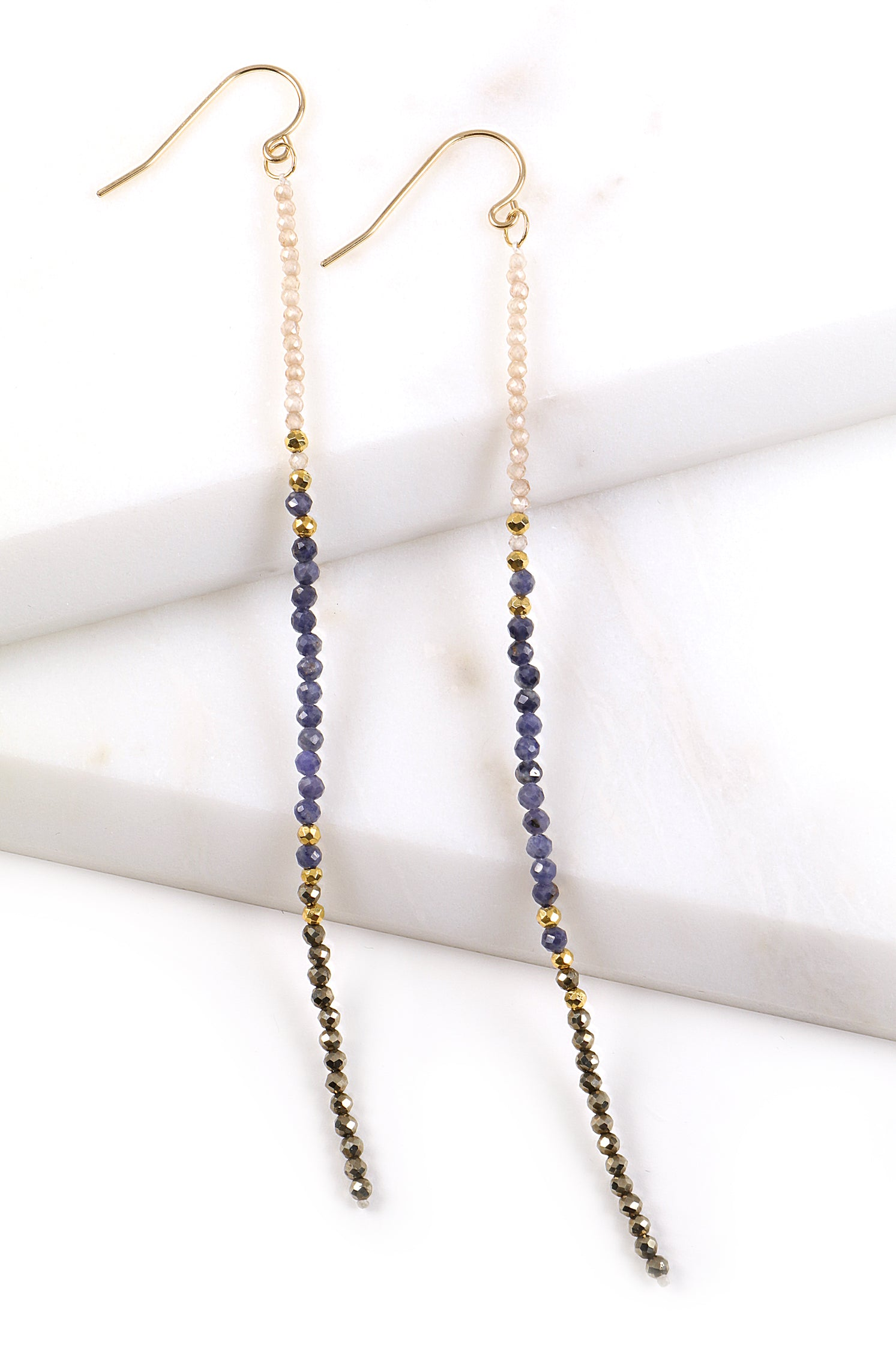 Sapphire Duster Earrings