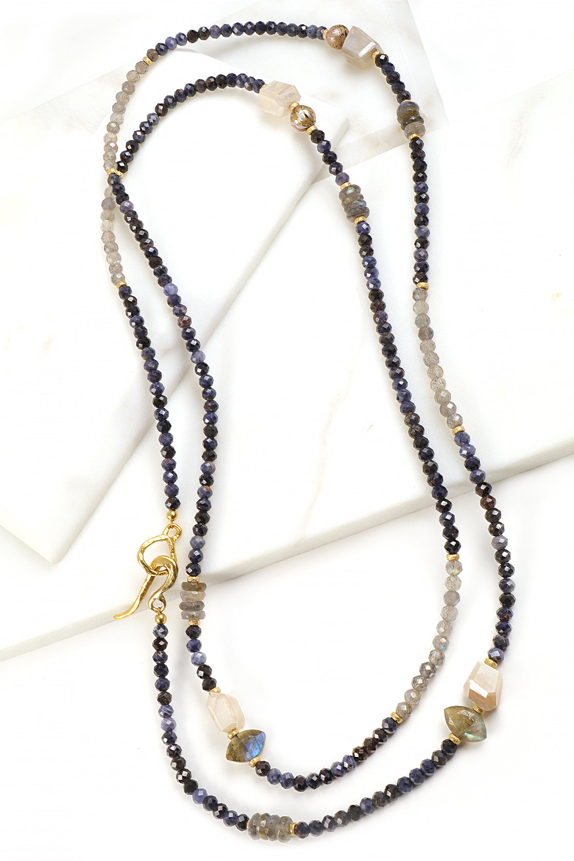 Sapphire Layering Necklace