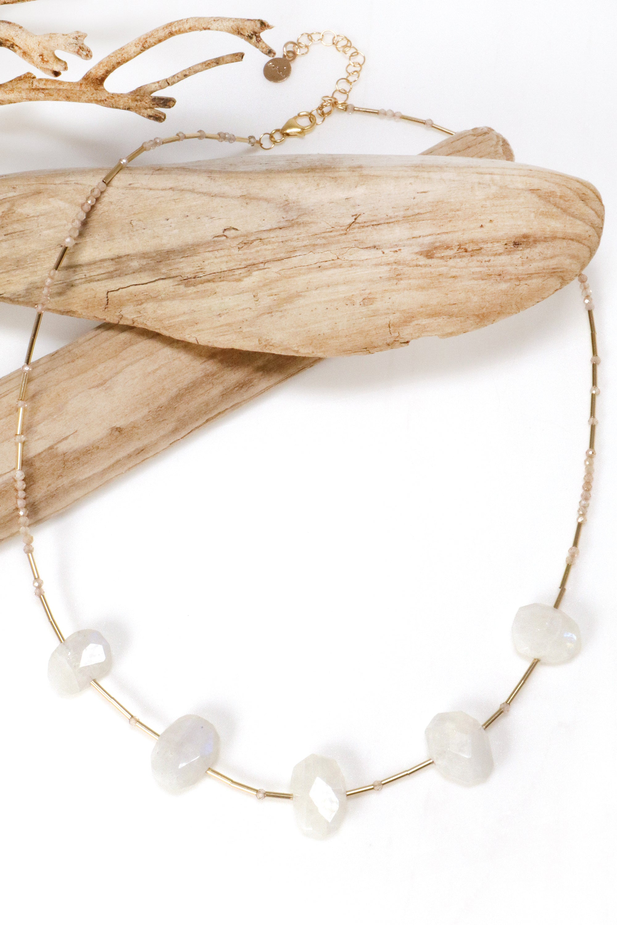 Moonstone Statement Necklace