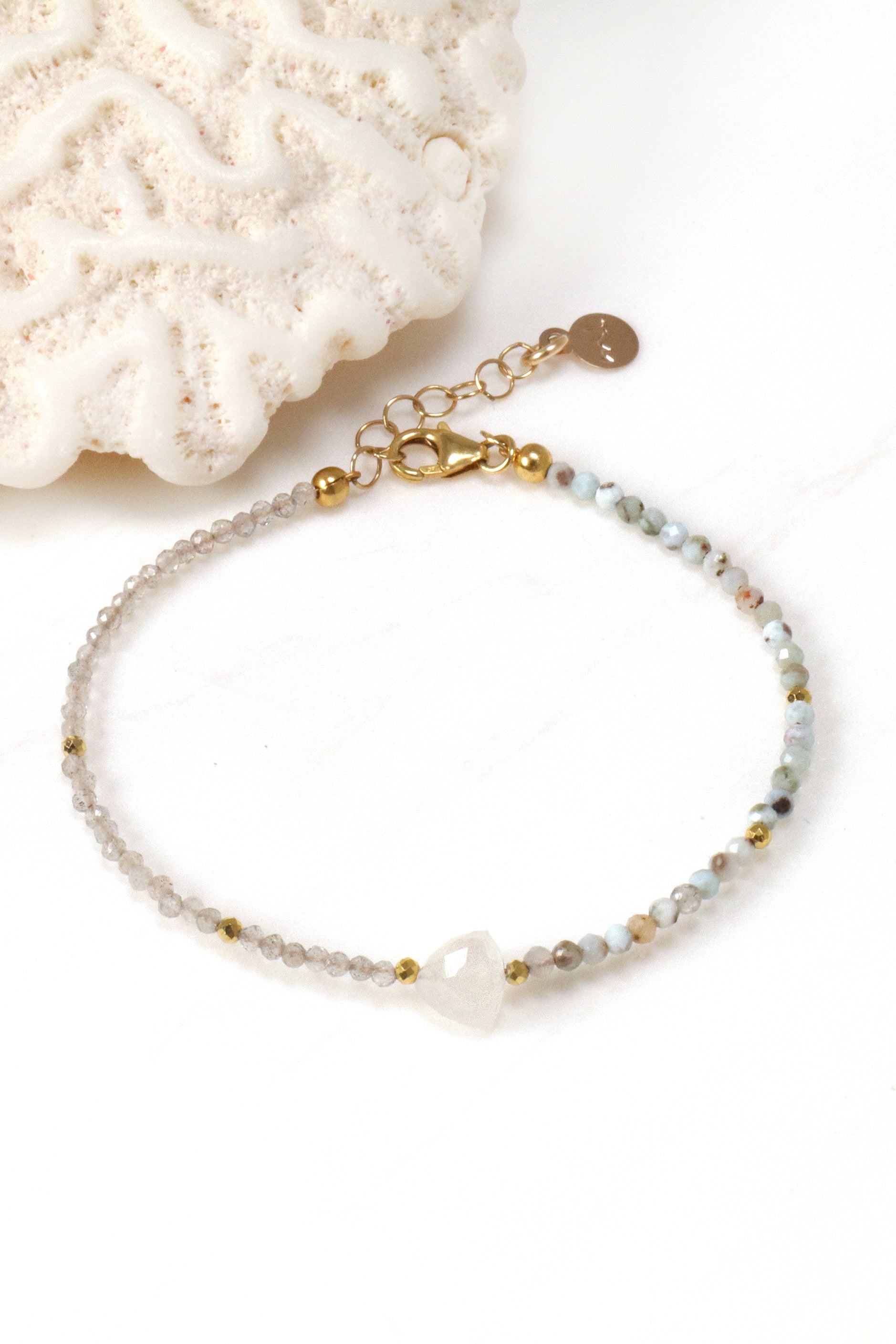 Moonstone Arrow Bracelet