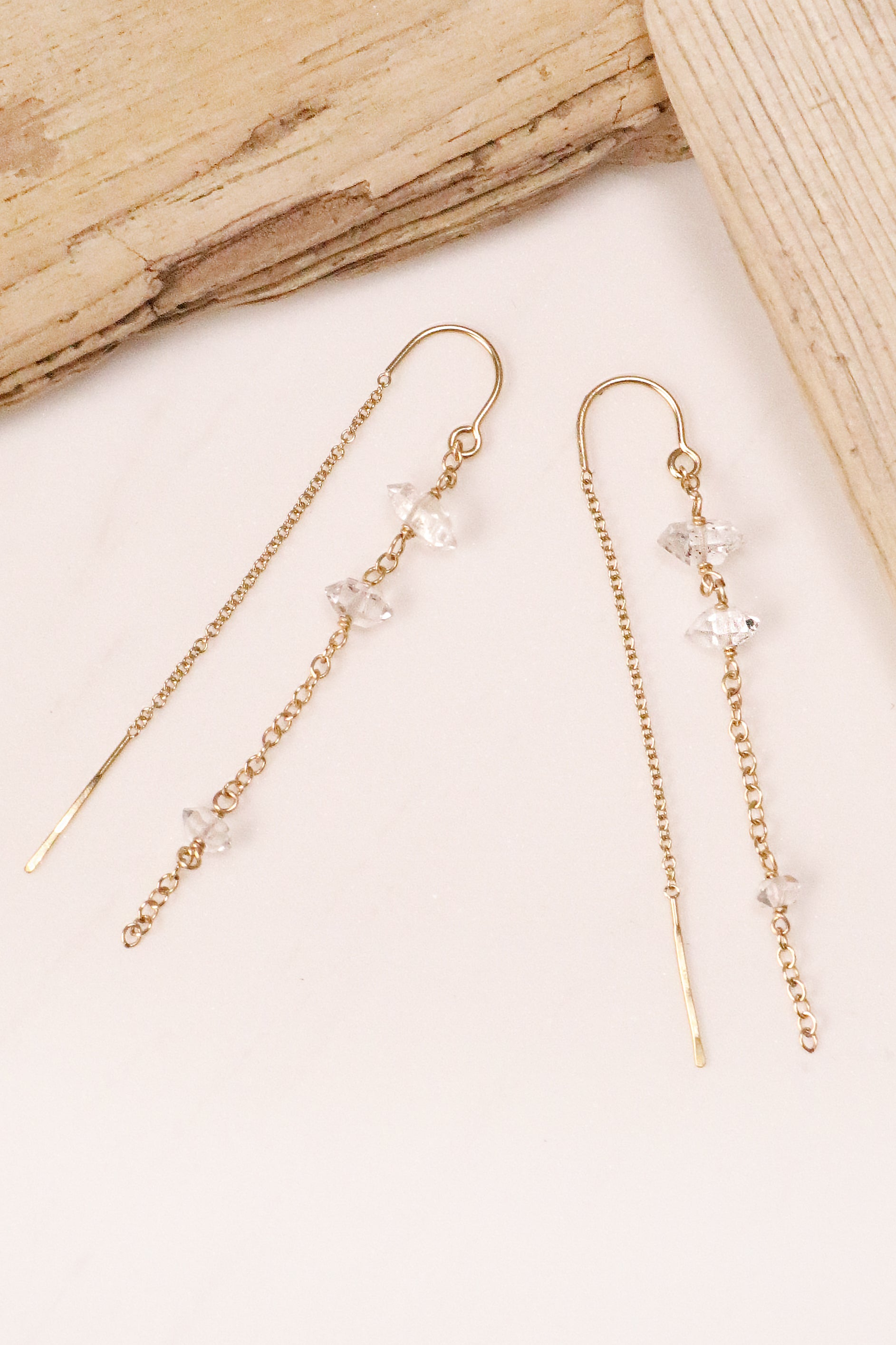 Herkimer Cascade Earrings
