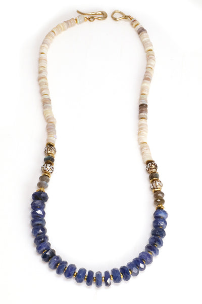 Kyanite Statement Necklace